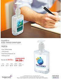VL2016 8oz. Sanitizer