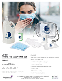 GS8053 10 pc. PPE Set