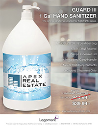 VL2023 Gallon Sanitizer - October 2020