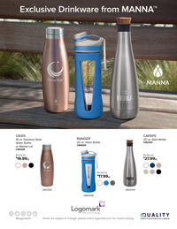 Exclusive Manna™ Drinkware