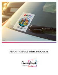 PaperSplash - Repositionable Vinyl Products