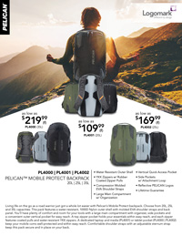 LM - Pelican™ April 2018 - Backpacks
