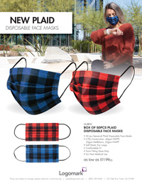 Plaid Facemask