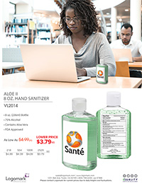 VL2014 8oz. Sanitizer